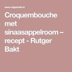 Croquembouche met sinaasappelroom – recept - Rutger Bakt Croquembouche