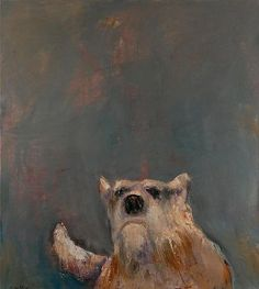 The Old Dog by Mel McCuddin #art #paintings