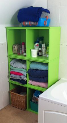 upcycled furniture | Upcycled furniture for the bathroom. | Flickr - Photo Sharing!