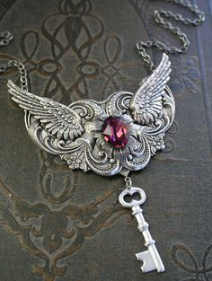 THE LAST KEY romantic Victorian steampunk by TheVictorianGarden. $62.00,