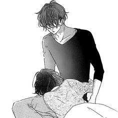 Immagine di manga and meguro amu Romantic Anime Couples, Romantic Manga, Anime Couples Manga, Cute Couples, Manga Anime, Anime Couples Hugging, Kyoya Sata, Cute Anime Coupes, Couples Comics
