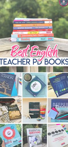 15 of the best professional development books for secondary English teachers, recommended by practicing educators High School Literature, Literature Circles, High School Drawing, Icebreaker Activities, Visible Learning, English Teachers, Reading Workshop, Reading Strategies