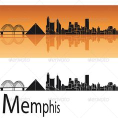 Buy Memphis Skyline in Orange Background by paulrommer on GraphicRiver. Memphis skyline in orange background in editable vector file Memphis Skyline, St Louis Skyline, Memphis Art, Vegas Skyline, Dallas Skyline, Chicago Skyline, Memphis Tennessee, London Skyline, Skyline Art