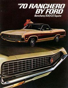 1970 Ford Ranchero Ad