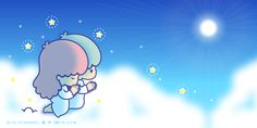 Sanrio: Little Twin Stars:) Sanrio Characters, Cute Characters, Star Banner, Hello Kitty My Melody, Star Cloud, Little Twin Stars, Kawaii Cute, Cute Pictures, Twins