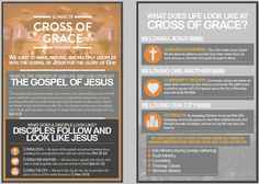 Cross of Grace's Information Flyer