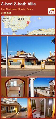 3-bed 2-bath Villa in Los Alcazares, Murcia, Spain ►€129,950 #PropertyForSaleInSpain