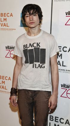 Ezra Miller.. One of my new favorite actors. Costarred w/robin Williams in Worlds Greatest Dad.