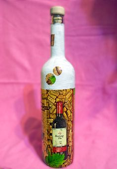 Sticla decorativa (20 LEI la pia792001.breslo.ro) Decorative Bottles, Wine, Drinks, Home Decor, Party, Drinking, Beverages, Decoration Home, Room Decor