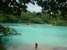 Agua clara, Chiapas