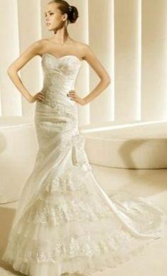 ad4719b87d0b Pronovias - Bridal Gown - Gorgeous! La Sposa Wedding Dresses