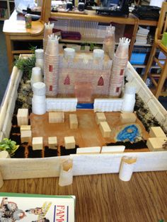 "My 7th grade World History class has been studying feudalism. Their project for this unit was building a castle.  ""You (a medieval master builder) have been requested, by the king, to build a new and beautiful castle that is defensive, aesthetic, a complete manor, and contains all the aspects of a medieval castle..."""