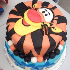 Tigger Cake, Tigger Birthday Cake