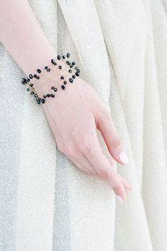 61_Bracelet con perlas pulsera de perlas naturales por ArsiArt