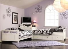 Lily Two Bed Suite contemporary kids beds