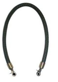 Asa para bolso de cuero redonda con mosquetón 40cm marrón: Catálogo de Planas & Linares