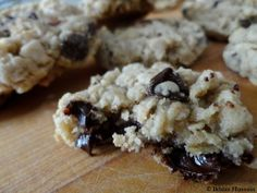 Chewy Oatmeal Chocolate Chip Cookie Recipe- just made these bad boys for my boss!