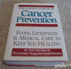 The Complete Book of Cancer Prevention Hardcover DJ Prevention Magazine Staff