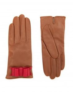 Bow detail leather glove - BINJAI - Ted Baker
