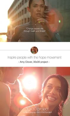 Amy Clover and her amazing dream to start a hope movement.Read her personal story below and find out how you can help:http://www.indiegogo.com/30x30project