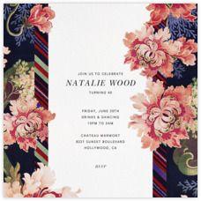 Oscar de la Renta Invitations - Paperless Post