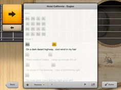 songful app turns your iPad into a sweet ultimate guitar-powered touch guitar!  Strum on people!!!