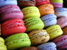 I've never had macaroons. They're so cute and colorful, I'll have to fix that soon.