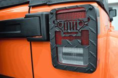All Things Jeep - Jeep Tweaks Jeep Design Tail Light Guards for Jeep Wrangler 2/4 door (2007-2015) - Black