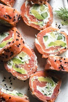 Smoked Salmon Recipes, Fish Recipes, Seafood Recipes, Appetizer Recipes, Low Carb Recipes, Cooking Recipes, Healthy Recipes, Seafood Appetizers, Recipes Dinner