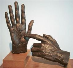Hands Of The Risen Christ by Jacob Epstein  A great piece of art for Holy Week.   Amazing.