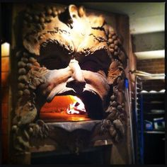 Photo of the Day: Bacchus's Human-Head Pizza Oven | Serious Eats