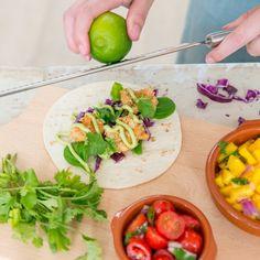 Vistaco's met avocadocrème en salsa's voor Dille & Kamille - Manon Van Aerschot