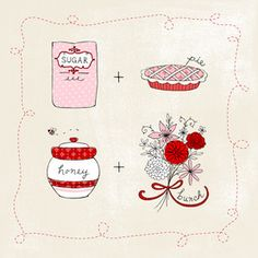 Sugar Pie Honey Valentine's Day Card