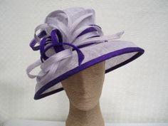 Louise Oliver - Aintree Lilac & Purple Ladies Hat