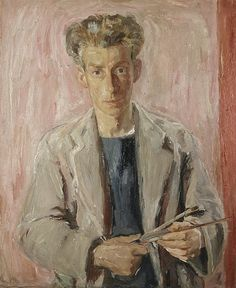 Sir William George Gillies, 1898 - 1973. Artist (Self-portrait)