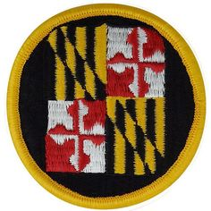 Maryland National Guard Class A Patch