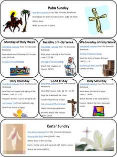 Homeschool Is Where The Heart Is: Holy Week Printables & Links