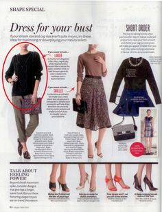 SPOTTED    GASPARRE Cashmere in INSTYLE, May, 2014.  SHOP NOW -->  http://www.gasparrecashmere.com/collections/new-arrivals/products/cable-knit-sweater-charcoal