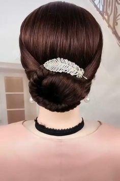 Easy Hairstyles For Long Hair, Formal Hairstyles, Bride Hairstyles, Pin Up Hairstyles, Hairstyle Ideas, Hair Up Styles, Medium Hair Styles, Natural Hair Styles, Long Hair Video