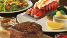 The Victoria's Filet and Lobster Tail at Outback Steakhouse