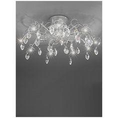 Deckenleuchte 10-flammig Chantilly Jetzt bestellen unter: https://moebel.ladendirekt.de/lampen/deckenleuchten/deckenlampen/?uid=500db10c-1c49-59a7-85ab-8d79943e507a&utm_source=pinterest&utm_medium=pin&utm_campaign=boards #deckenleuchten #lampen #deckenlampen Bild Quelle: wayfair.de