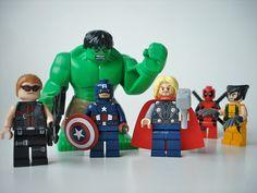 more interested on that custom lego deadpool :D