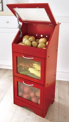 Veggie Bin with Glass Door