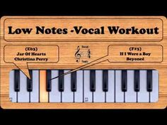 Get Low - Female Vocal Workout Exercise - YouTube http://www.voxsource.com/singing-lessons-online/