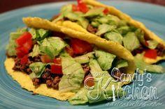 Sandy's Kitchen: Taco Shells from Cauliflower