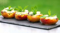 Fruit, Vegetables, Food, Grilled Peaches, Cooking, Grilling, Easy Meals, Convenience Food, Meal