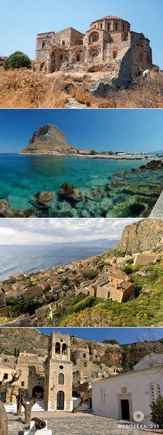 Monemvasia, Greece. For luxury hotels in Monemvasia visit http://www.mediteranique.com/hotels-greece/monemvasia/