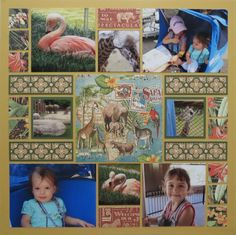 Are you looking zoo scrapbook layout ideas? You definitely want to check out our scrapbook tips for creating one! What we love about this layout is it seems more mature. Click to view the full layout and get our tips!