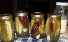 Dill Pickles~want to do some canning~...never have myself, although I've watched my mom and think it would be awesome!