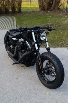 """The Silencer"" Harley Davidson Bobber auf Basis 2007 Nightster 1200 XL - Making of - Final Result"